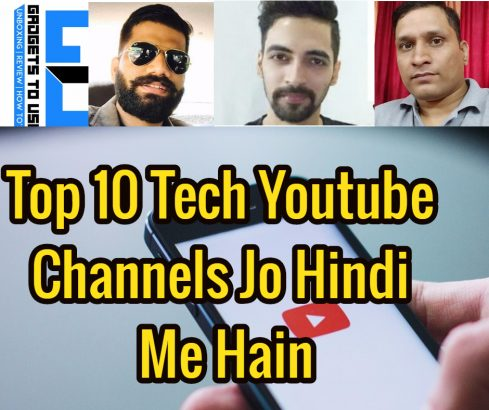 Top-10-Tech-Youtube-Channels-Jo-Hindi-Me -Hain