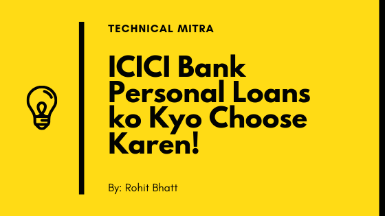 ICICI Personal Loan